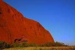 A rocha na luz da manhã. Fotos de Stock