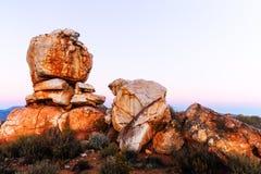 Rocha na montanha Fotografia de Stock