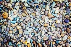 A rocha no fundo de superfície da natureza Fotos de Stock