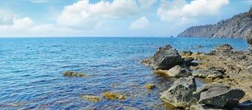 Rocha no oceano Foto de Stock