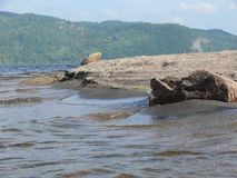 Rocha no Pembroke Canadá, America do Norte Fotografia de Stock Royalty Free