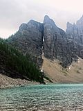 Rocha rachada da montanha Imagens de Stock