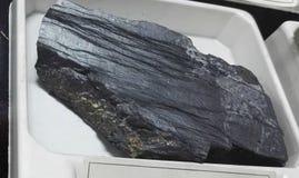 Rocha sedimentar da ardósia do rolamento do ouro Fotos de Stock Royalty Free