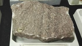Rocha sedimentar de mármore da pedra calcária imagens de stock