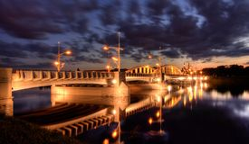 rocha ST του Πόζναν γεφυρών Στοκ Φωτογραφίες