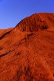 Rocha vermelha na luz da manhã Fotos de Stock