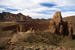 Rocha vulcânica Imagem de Stock Royalty Free