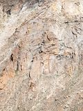 Rochas altamente fraturadas e frágeis em Ladakh fotografia de stock royalty free