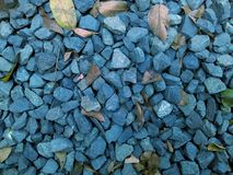Rochas azuis Fotografia de Stock