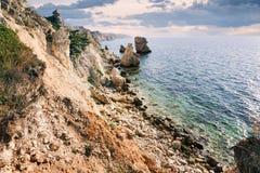 Rochas bonitas da paisagem Imagem de Stock