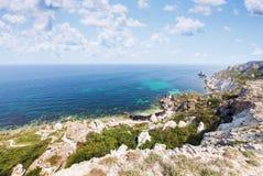 Rochas bonitas da paisagem Foto de Stock