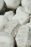 Rochas brancas Fotografia de Stock