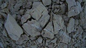 Rochas brancas Foto de Stock