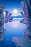 Rochas da cachoeira Fotos de Stock Royalty Free