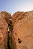 Rochas da garganta de Chaco Imagens de Stock