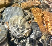Rochas da água Foto de Stock Royalty Free