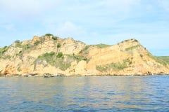 Rochas da ilha de Padar foto de stock