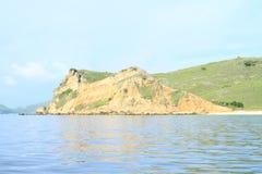 Rochas da ilha de Padar fotos de stock