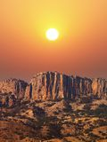 Rochas da montanha Imagem de Stock Royalty Free