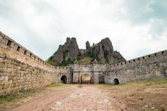 Rochas de Belogradchik imagens de stock