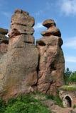 Rochas de Belogradchik Fotografia de Stock