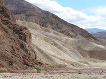 Rochas de Death Valley Fotografia de Stock