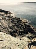 Rochas de Newport Fotos de Stock