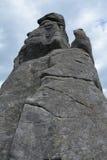 Rochas de Pielgrzymy em montanhas de Karkonosze Foto de Stock Royalty Free