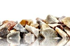 Rochas de quartzo do arco-íris Fotos de Stock