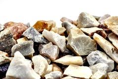 Rochas de quartzo do arco-íris Imagens de Stock