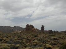 Rochas de Teide imagens de stock