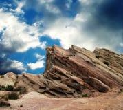 Rochas de Vasquez antes da tempestade Imagens de Stock