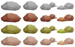 Rochas diferentes Imagens de Stock