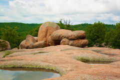 Rochas do elefante Imagens de Stock
