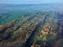 Rochas do mar fotos de stock royalty free