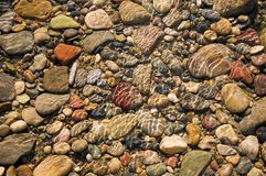 Rochas do rio Fotos de Stock Royalty Free