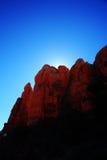 Rochas do vermelho de Sedona imagens de stock