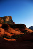 Rochas do vermelho de Sedona imagem de stock