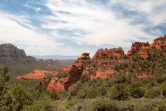 Rochas do vermelho de Sedona Foto de Stock