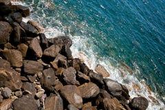 Rochas e água Fotos de Stock Royalty Free
