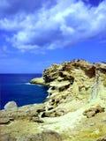 Rochas e costa de mar fotografia de stock royalty free