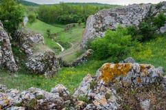 Rochas e natureza Foto de Stock