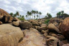 Rochas e pedregulhos Fotografia de Stock