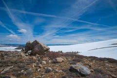 Rochas e pedregulhos na serra Nevadas Fotos de Stock