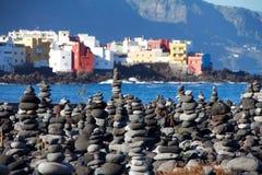 Rochas em Puerto de la Cruz Foto de Stock