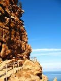 Rochas em Sardinia fotos de stock royalty free