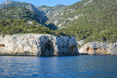 Rochas em Sardinia Fotografia de Stock Royalty Free