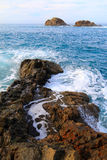 Rochas em Tenerife Imagens de Stock Royalty Free