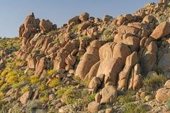 Rochas gastas no deserto Fotografia de Stock Royalty Free