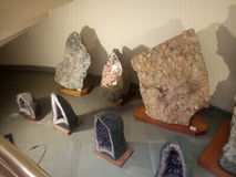 Rochas minerais Fotografia de Stock Royalty Free